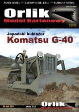 KOMATSU G-40 - ORLIK 084 - 1/25 paper model