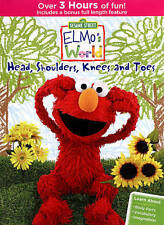 Sesame Street: Elmo's World - Head, Shoulders, Knees and Toes (DVD, 2015) NEW