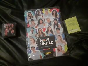 album now united - complete set (stickers and cards) Panini