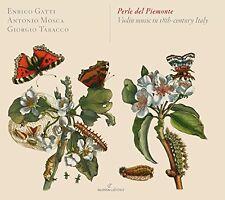 Enrico Gatti - Perle del Piemonte Violin Music in 18th Century Italy [CD]