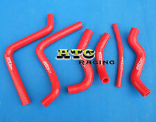 silicone radiator hose for HONDA CR125 CR125R 2000 2001 2002 01 00 02 RED