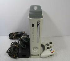 Microsoft Xbox 360 Original White console 20Gb (None Hdmi) W/Controller Cables
