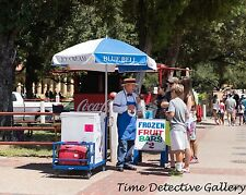 Blue Bell Ice Cream Man, Ft. Worth, Texas - 2014 - Giclee Photo Print