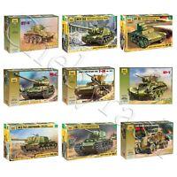 "Model Kits ""Soviet tanks Armored forces 1939-45 WWII"" 1:35 Zvezda, part #1"