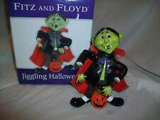 Fitz & Floyd Jiggling Halloween Dracula Vampire Figurine Decoration Bobble Head