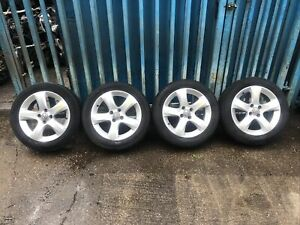 """Vauxhall Corsa D Sxi 16"""" Alloy Wheels / Tyres 195/55/16 ** W370"""