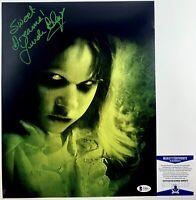 Linda Blair Autographed The Exorcist Regan MacNeil 11x14 Photo Signed BAS COA