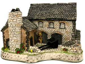 David Winter Cottages Tyddyn Siriol Welsh Collection 1993 Box COA Perfect