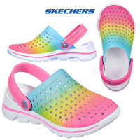 Skechers Kids Childrens Go Walk 5 Play By Play Multicoloured Clogs Sandals Shoes