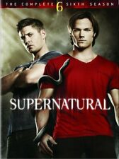 SUPERNATURAL SEASON 6 New Sealed 5 DVD Set