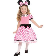 Girls Minnie Mouse Deluxe Costume Fancy Dress Small 4-6