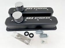 Small Block Chevy 383 Stroker Sbc Tall Vortec Center Bolt Valve Cover Custom