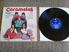 "CARAMELOS ERASE UNA VEZ EL HOMBRE LP VINILO VINYL 12"" 1979 HISPAVOX INFANTIL"