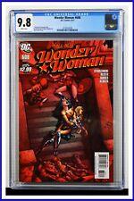 Wonder Woman #608 CGC Graded 9.8 DC April 2011 White Pages Comic Book