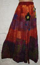 New Fair Trade Cotton Skirt 14 16 - Hippy Ethnic Ethical Boho Hippie Gypsy