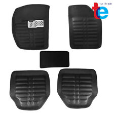 Car Floor Mats Front & Rear Liner Waterproof All Weather 5pc Universal Auto Mat