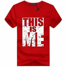 Personalized Tees Solid T-Shirts for Men