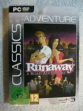 PC DVD ROM GIOCO Runaway-A ROAD ADVENTURE (PC, 2010, DVD-BOX)