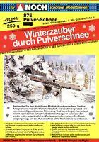 Noch Prospekt Pulverschnee Modellbahnen 1990er brochure prospectus broszura