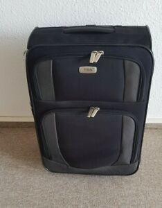 Titan- Marken-Koffer Stoff schwarz, Trolley Kabinentrolley Wie Neu