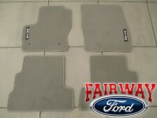 13 thru 18 Escape OEM Genuine Ford Carpeted Tan / Light Stone Floor Mat Set 4-pc