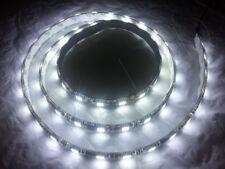 1 METER WHITE 60 LED BLACK PCB FLEXIBLE WATERPROOF 5050 SMD LED STRIP
