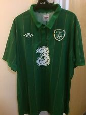 "2011/2012 Republic of Ireland home football shirt Umbro XXL men's 2XL 48"""