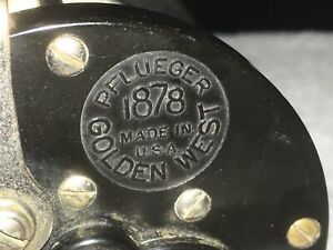 A Vintage Pflueger Multiplier Reel