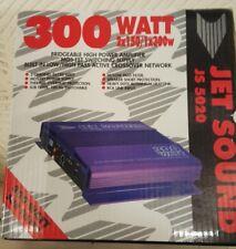 Coche Amp Jet JS 5020 300 vatios amplificador de sonido de alta potencia Amplificador Nuevo Y En Caja 2x150/1×300w