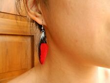 REAL Cicada Wings Earring 925 sterling butterfly earrings ONG