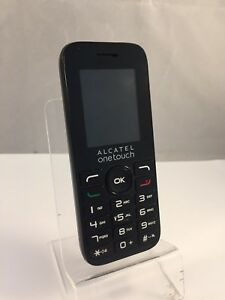 Alcatel One Touch 1016G EE Black Mobile phone