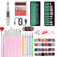 94Pcs/Set Nail Art Tools Electric File Drill Bits Machine Manicure Pedicure Kit