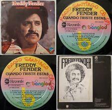 FREDDY FENDER BEFORE THE NEXT TEARDROP FALL 1976 UNIQ ERRORS CHILEAN PRESS ONLY!