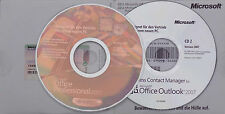 Microsoft OFFICE 2007 Professional Vollversion+CD/DVD 32/64bit~ab Windows XP DE