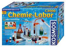 Chemielabor C 3000 Labor-Ausstattung Experimentierkasten KOSMOS