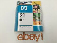 NEW GENUINE HP 21 Black Ink Cartridge (C9351AN C9351A) -EXPIRATION DATES VARY