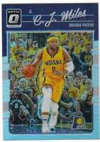 2016-17 Donruss Optic Basketball Holo Prizm #95 C.J. Miles Pacers