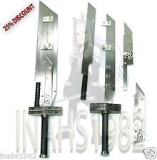 2 PCS MULTI ADVENT CHILDREN BUSTER SWORD WITH DISPLAY WOODEN STAND