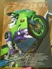 KAWASAKI ZXR750/750R Motocicleta FOLLETO 99948-1149 All-e 11-XI