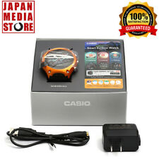 CASIO Smart Outdoor Watch WSD-F10RG Android Wear Smartwatch 100% JAPAN WSD-F10