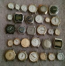 LOT OF 30 WATCHES TIMEX UNTESTED PARTS REPAIR