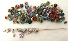 Beautiful  Style Charms And 925 Sterling Silver Bracelet Job Lot #945