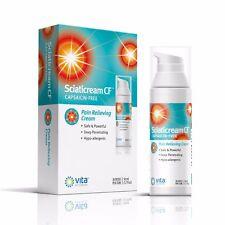 Sciatacream CF - Sciatic Rapid Pain Relief Cream with Arnica, B1, B5, B6,