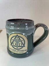 Deneen Pottery Handthrown Mug Whitesell Optometry Spring Hill, Kansas