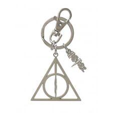 Harry Potter Deathly Hallow Pewter Keyring Monogram