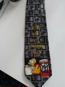 Men's Simpsons Homer Silk Tie