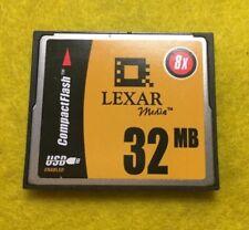 Lexar Media 32MB CompactFlash 2250 Rev. A