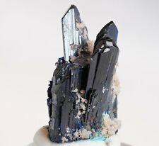 Azurite Crystal Spray, Tsumeb Mine, Namibia