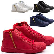 Scarpe Uomo Sneakers Pelle PU Stivali Francesine Mocassini Ginnastica Anfibi S31