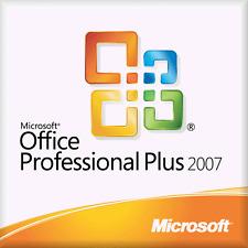 Microsoft office professionnel plus 2007 clé et télécharger et code de produit/clés